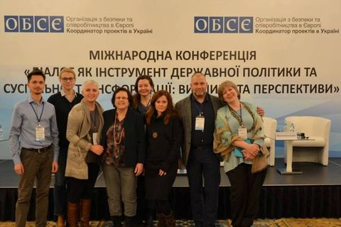 Dignity Space participated in the OSCE conference on spreading of culture of dialogue in Ukraine