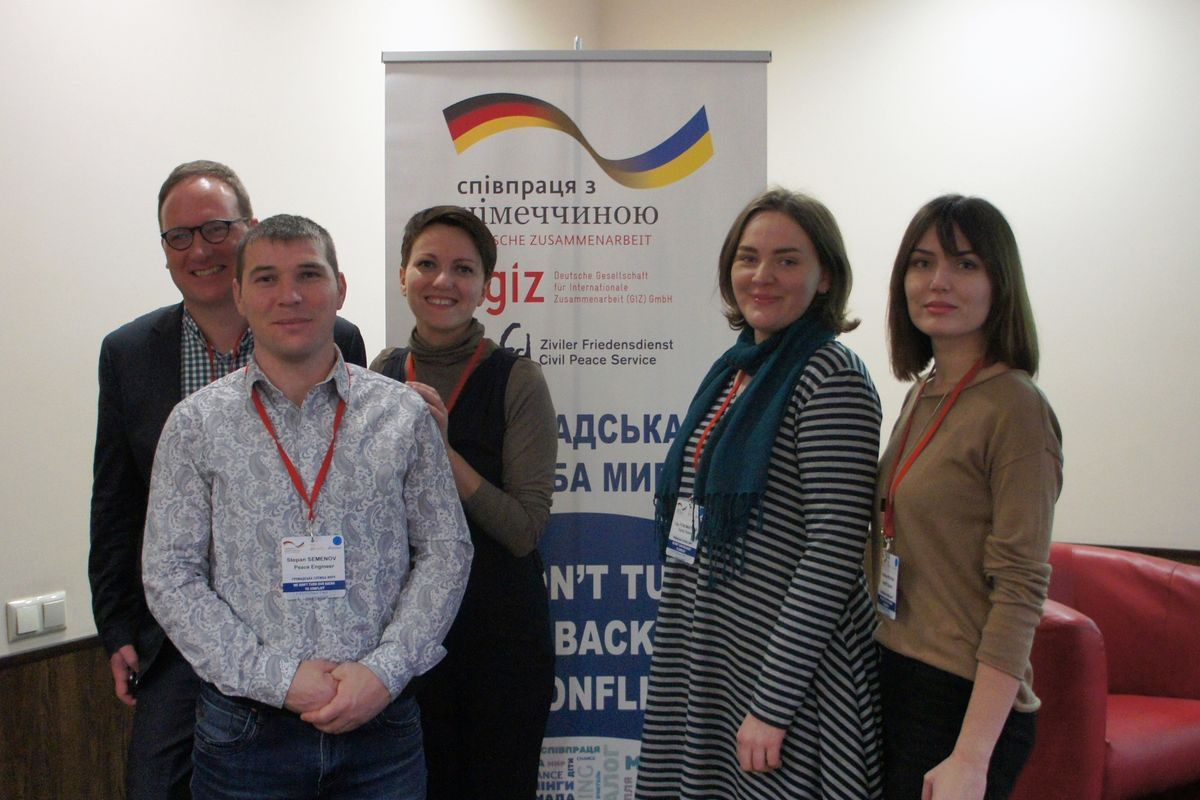 The delegation  of Dignity Space representatives visited the opening of CPS office in Dnipro