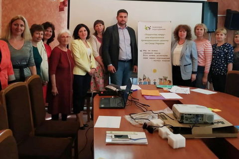 "Workshop ""Art of dialogue through Nonviolent Communication"" held in Bakhmut, Donetsk region"