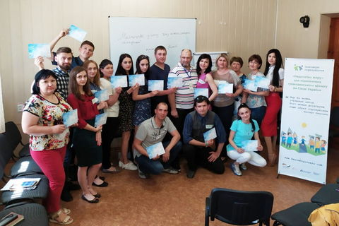 "Workshop ""Art of Dialogue through Nonviolent Communication"" held in Starobilsk region"