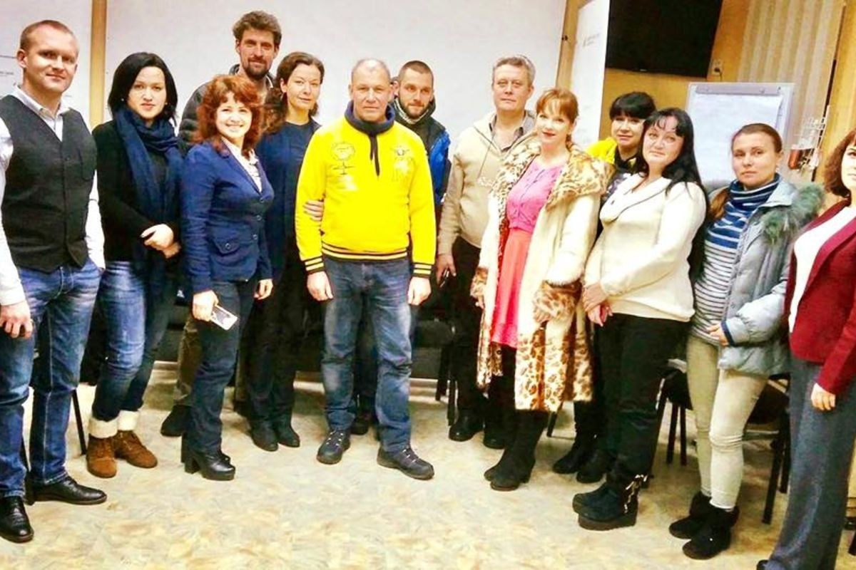 Small workshop on the basic concepts of NVC was held in Luhansk region