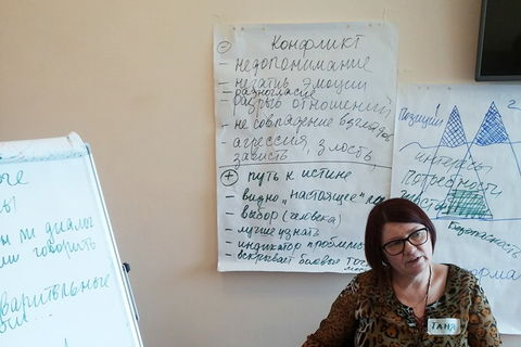 "Workshop ""Art of Dialogue through Nonviolent Communication"" held in Kryvyi Rih"